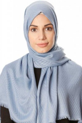 Caria - Light Blue Hijab - Madame Polo