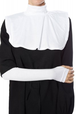 Derin - White Neckcover & Arm Sleeves