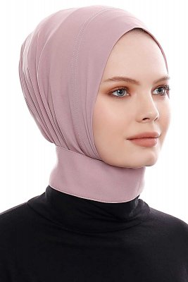 Narin - Dark Pink Practical One Piece Crepe Hijab
