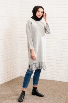 River - Grey Tunic - Lysa Studio