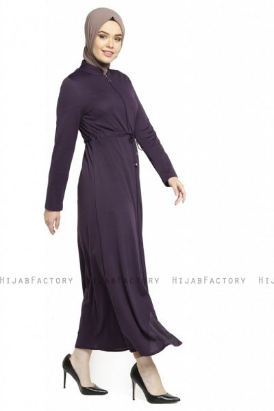 Emine - Purple Abaya - Miss Halima