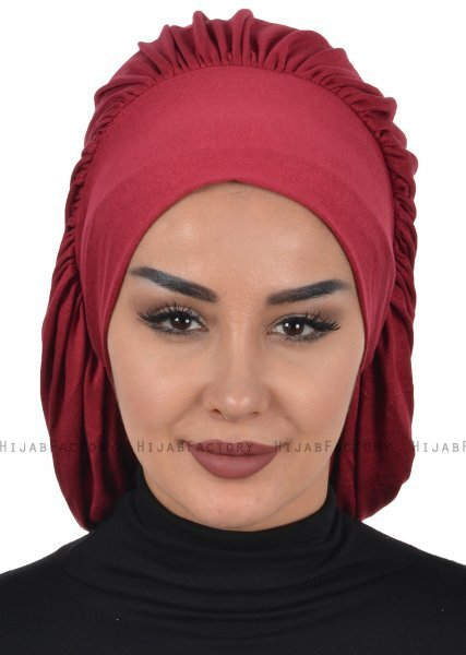 Isabella - Bordeaux Cotton Turban - Ayse Turban