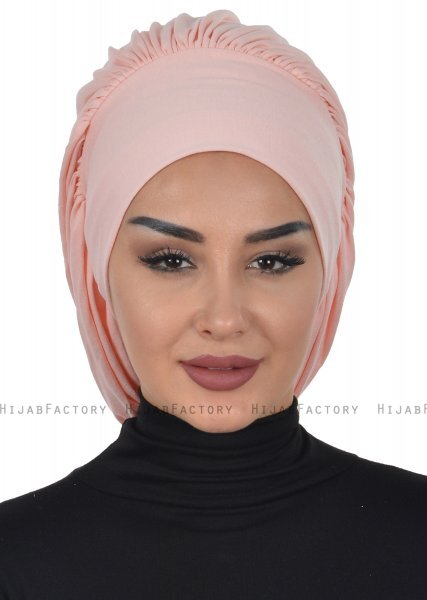 Isabella - Dusty Pink Cotton Turban - Ayse Turban