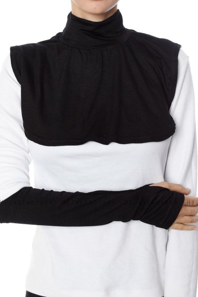 Derin - Black Neckcover & Arm Sleeves
