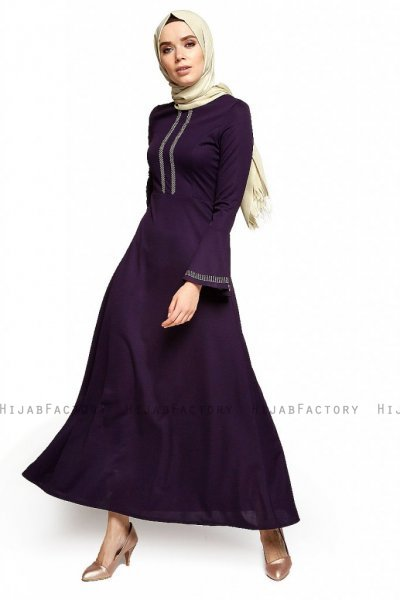 Deste - Purple Dress - Miss Halima