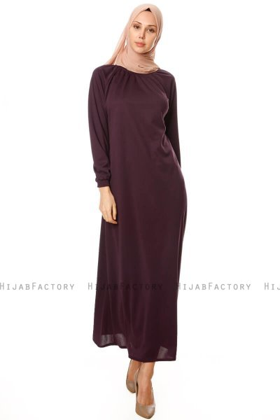 Esra - Purple Dress - Miss Halima