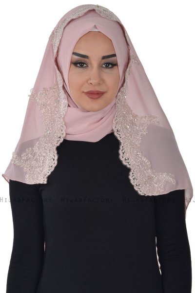 Helena - Dusty Pink Practical Hijab - Ayse Turban