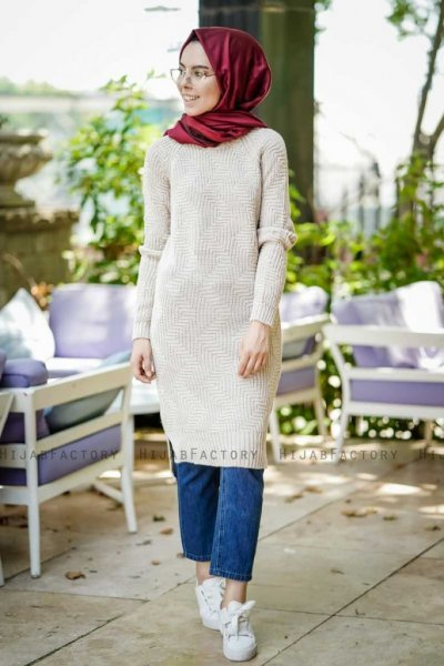 Millie - Stone Grey Tunic - Insirah