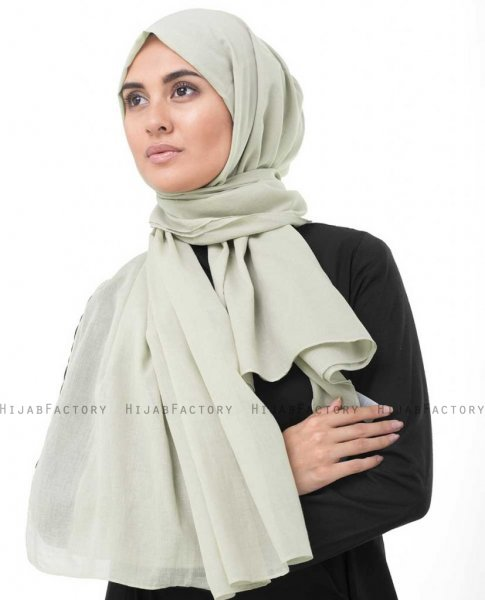 Nomad Sand Bomull Voile Hijab InEssence Sjal 5TA72b