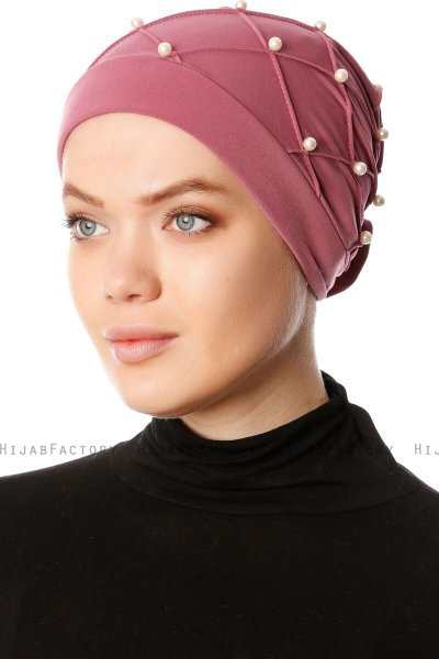 Yaren - Light Purple Crepe Chiffon Turban - Sehr-i Sal